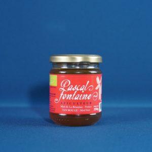Produits de la Réunion - Miel de tan rouge miel vert bio - pascal fontaine