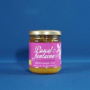 Produits de la Réunion - Miel de baies roses bio - pascal fontaine