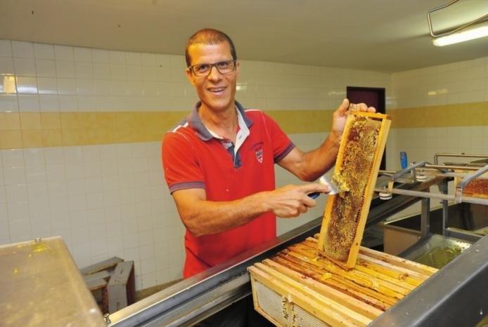 Présentation apiculteur Pascal Fontaine Miel