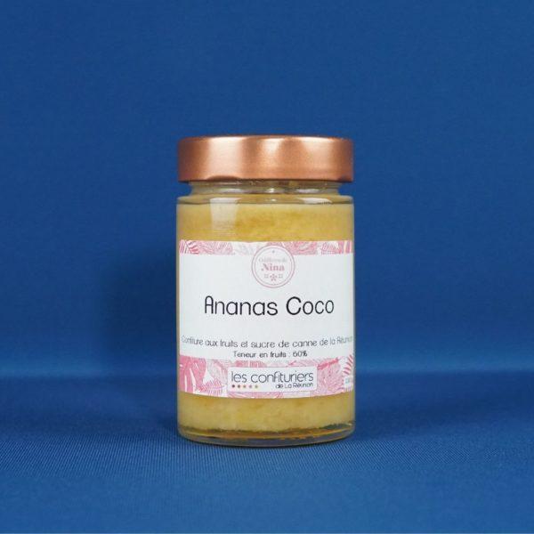 Produits de la Réunion - Confiture ananas victoria coco